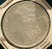 1891 MORGAN SILVER DOLLAR  VF/EXTRA FINE  DETAILS   SEE SHIPPING SPECIAL BELOW