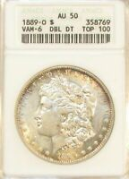 1889O MORGAN DOLLAR VAM-6    DOUBLE DATE ,  TOP-100