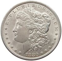 UNITED STATES DOLLAR  1880 TOP  T45 093