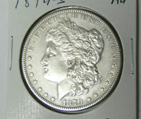 AU 1879-S MORGAN SILVER DOLLAR ABOUT UNCIRCULATED SAN FRANCISCO MINT 12-120
