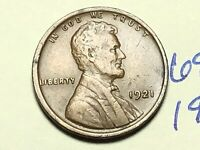 1921 1C BN LINCOLN CENT WHEAT CENT 6940K