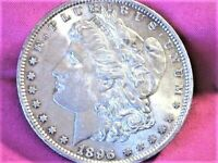 1896 P MORGAN FUL FEATHER EAGLE TO UP GRADE VAM 19/0017