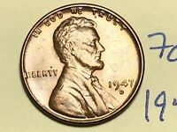 1947-D LINCOLN WHEAT CENT PENNY 1C 7067K
