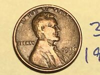 1926-D 1C BN LINCOLN CENT WHEAT CENT 3122K