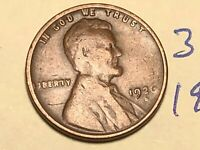 1926-D 1C BN LINCOLN CENT WHEAT CENT 3101K