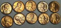 1930-P,S 1934-D 1935-S 1936-D,S 1937 -1947 LINCOLN CENT GEM BU CONDITION  J010
