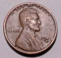 1929 D LINCOLN WHEAT CENT PENNY - NOT STOCK PHOTOS  - - -  SHIPS FREE