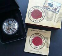 2009 AUSTRALIA 200 YEARS OF AUSTRALIA POST 1OZ SILVER  .999