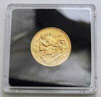 1931 22CARAT GOLD GEORGE V FULL SOVEREIGN WITH ST. GEORGE BA