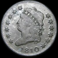 1810 CLASSIC HEAD LARGE CENT PENNY  ----   TYPE COIN   ---- K462