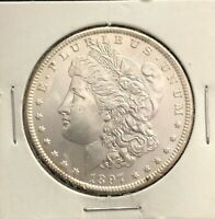1897 SILVER MORGAN DOLLAR