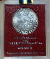 1897 NGC MINT STATE 63 REDFIELD COLLECTION MORGAN SILVER DOLLAR
