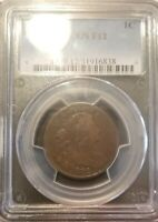 1802 DRAPED BUST LARGE CENT PCGS F12