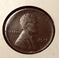 1918-P  LINCOLN WHEAT CENT  EXTRA FINE  80 LINES IN STALKS