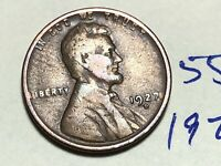 1927 D LINCOLN CENT WHEAT CENT 5563K