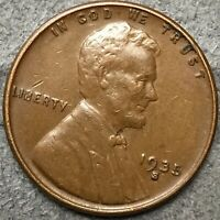 1935 S LINCOLN WHEAT CENT PENNY - HIGHER/HIGH GRADE  FREE SHIP. H25