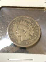 1863 INDIAN CENT SW. 756