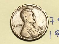1919 S LINCOLN CENT WHEAT BACK PENNY 7517K