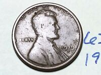 1919 S LINCOLN CENT WHEAT BACK PENNY 6327K