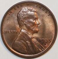 1935 S LINCOLN CENT . UNCIRCULATED           0004