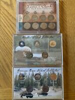 NICKEL LOT/ LEWIS & CLARK MINT MARK, KEELBOAT AND AMERICAN BISON COLLECTION