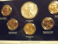 2013 US MINT ANNUAL UNCIRCULATED DOLLAR SET 2013 W SILVER EA