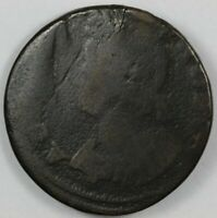 1786 CONNECTICUT MAILED BUST LEFT COLONIAL COPPER   MILLER 5