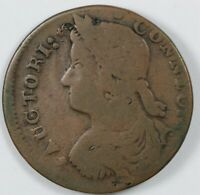 1787 CONNECTICUT BUST LEFT EARLY US COLONIAL COPPER COIN