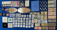 CANADA & US COIN & TOKEN & BANKNOTE ESTATE LOT  INCLUDES SIL