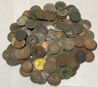 CANADA LARGE CENTS MIX LOT COLLECTION CULLS 152 PIECES  SEE