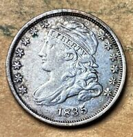 1835 CAPPED BUST DIME   VF  FINE