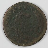 1787 NEW JERSEY COLONIAL EARLY US STATES COPPER COIN