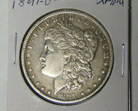 1891-O MORGAN SILVER DOLLAR EXTRA FINE /AU NEW ORLEANS MINT 22321