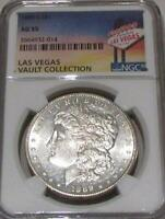 1889-S  MORGAN SILVER DOLLAR AU-55