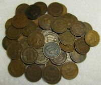 1 ROLL OF 1909 INDIAN HEAD CENTS FROM PENNY COLLECTION LOT S