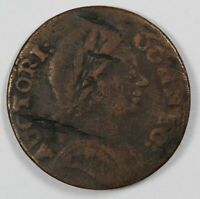 1785 CONNECTICUT BUST RIGHT COLONIAL EARLY US COPPER COIN