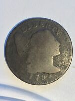 1795 LIBERTY CAP LARGE CENT LETTERED EDGE 1121