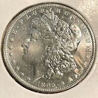 1895 O HIGH GRADE LUSTROUS VERY RARE MORGAN SILVER DOLLAR VE