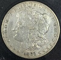 1883 UNITED STATES SILVER MORGAN DOLLAR - VG