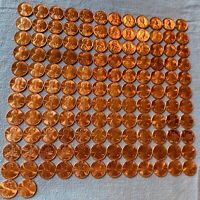 LINCOLN MEMORIAL & SHIELD CENTS BU   COMPLETE SET OF 136 COINS 1959   2021 P/D/S