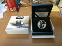 THE MANDALORIAN   CARA DUNE 1OZ SILVER COIN NEW ZEALAND MINT
