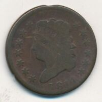 1814 CLASSIC HEAD LARGE CENT-PLAIN 4- CIRCULATED LARGE CENT-SHIPS FREE