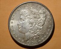 1878 S MORGAN DOLLAR BEAUTIFUL ORIGINAL UNTOUCHED UNCLEANED UNCIRCULATED FREES/H