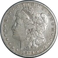 1879-P $1 MORGAN SILVER DOLLAR FINE DETAILS CLEANED / CULL CONDITION  041021005