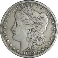 1879-P $1 MORGAN SILVER DOLLAR FINE DETAILS CLEANED / CULL CONDITION 041021041