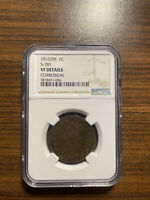 1810/1809 S-281 CLASSIC HEAD LARGE CENT 1C NGC GENUINE CORROSION VF DETAILS