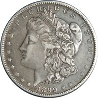 1899-O $1 MORGAN SILVER DOLLAR MICO O VF/EXTRA FINE  DETAILS CLEANED/SCRATCHES 041021075