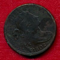 1802 DRAPED BUST LARGE COPPER CENT HIGH GRADE SHIPS FREE