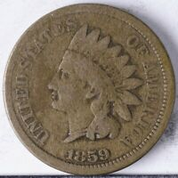 1859 INDIAN HEAD CENT G