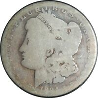1894-O $1 MORGAN SILVER DOLLAR FR/AG DETAILS CLEANED / CULL CONDITION 041021056